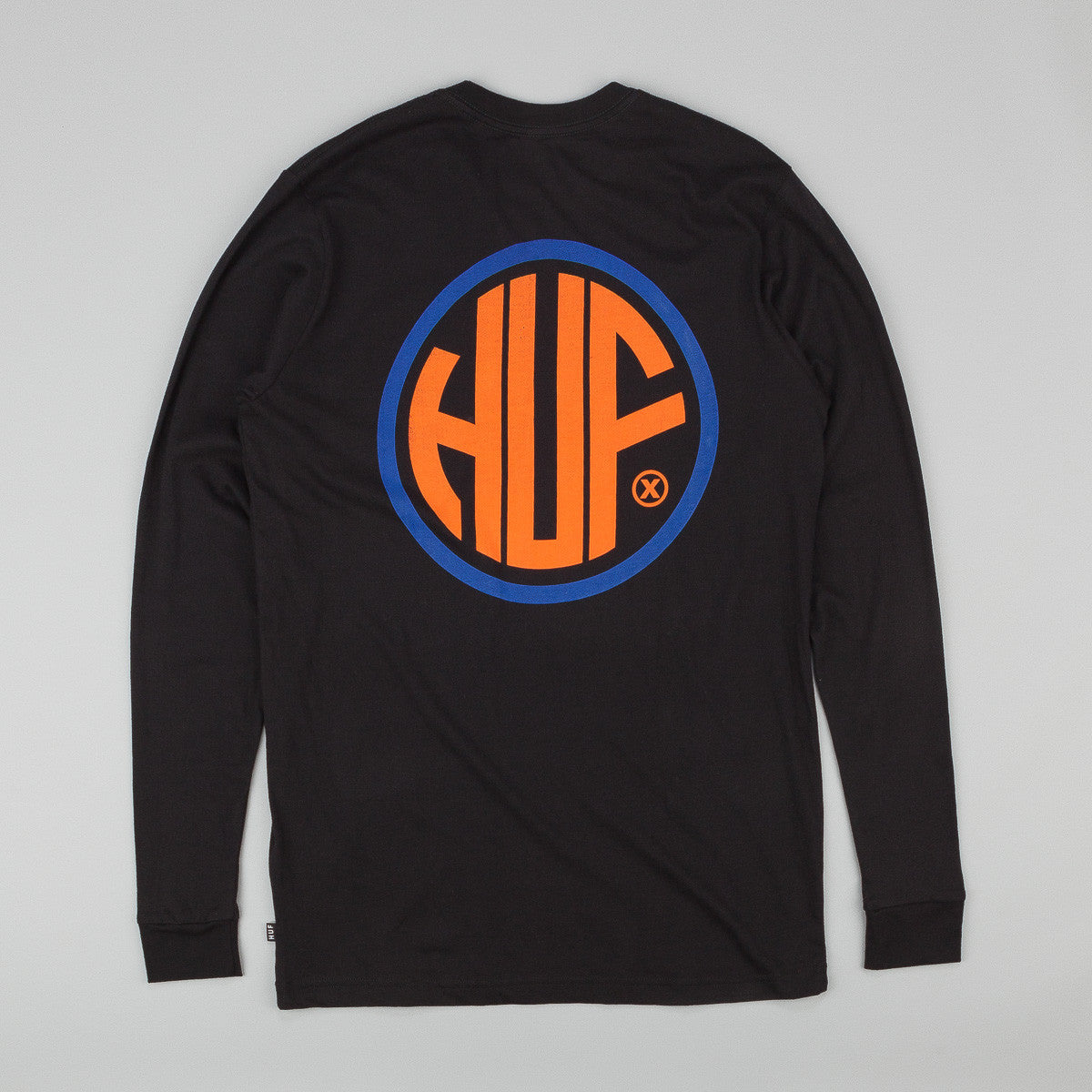 HUF Token Long Sleeve T-Shirt - Black
