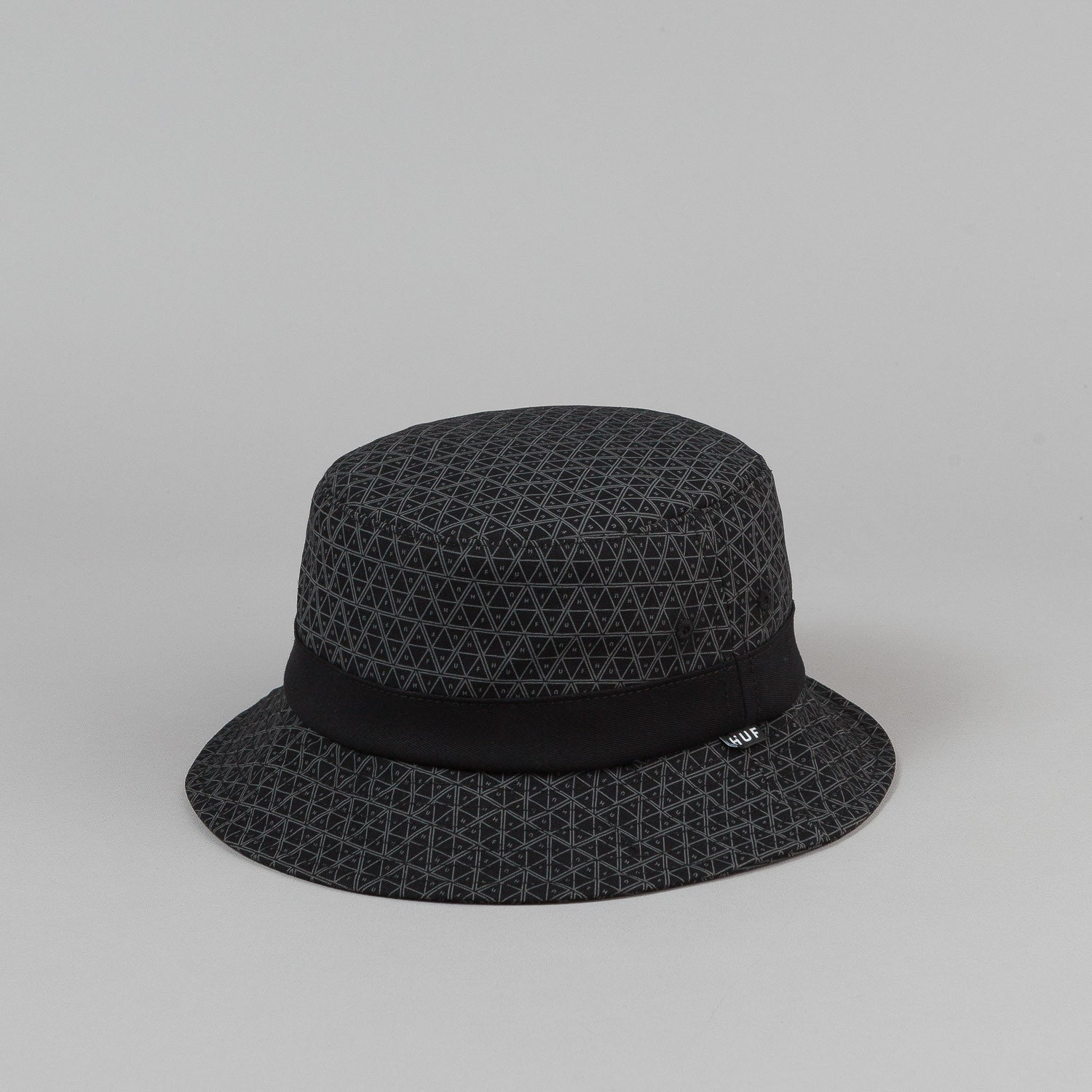 HUF Tonal Triple Triangle Bucket Hat - Black