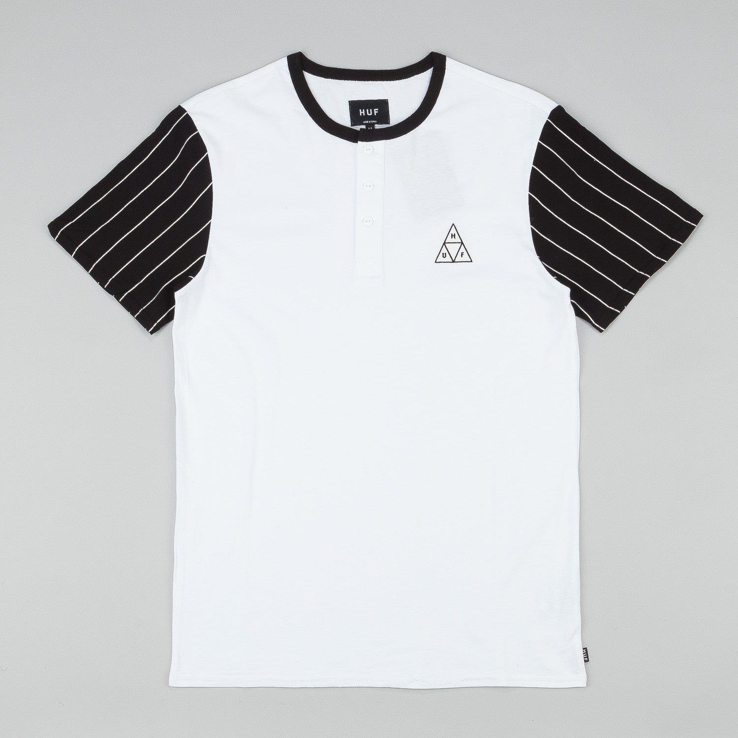 Huf Triangle Baseball T-Shirt