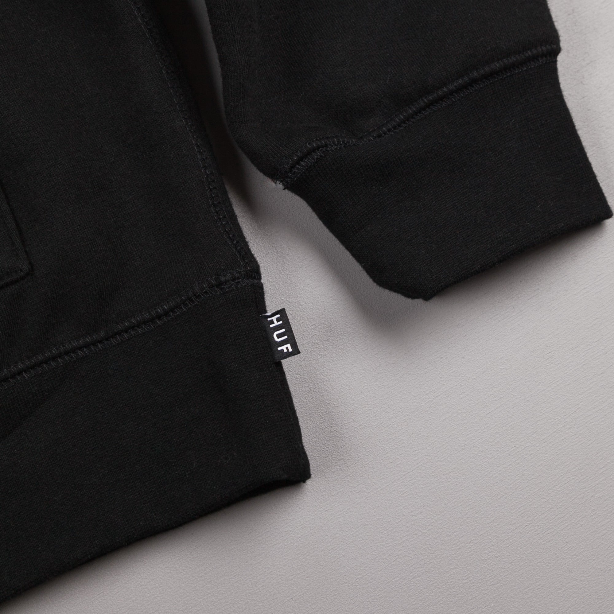 HUF Triple Triangle Hooded Sweatshirt - Black / Grey