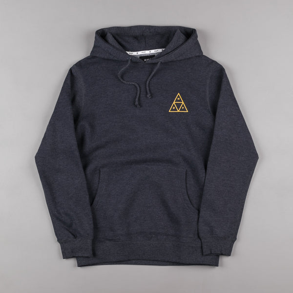 HUF Triple Triangle Hooded Sweatshirt - Navy Heather