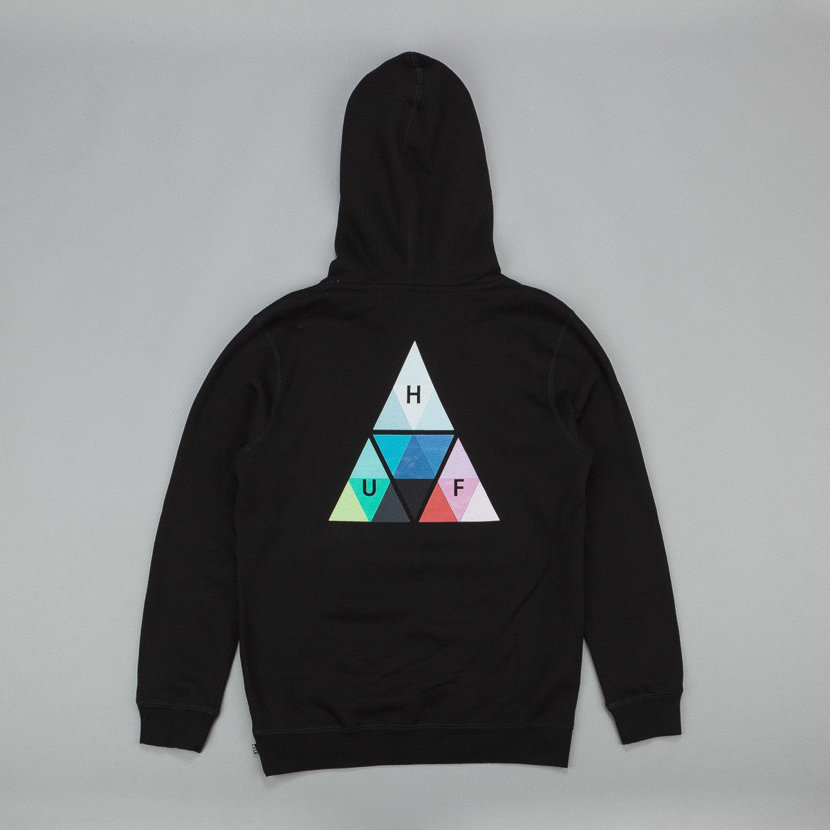 HUF Triangle Prism Hooded Sweatshirt - Black