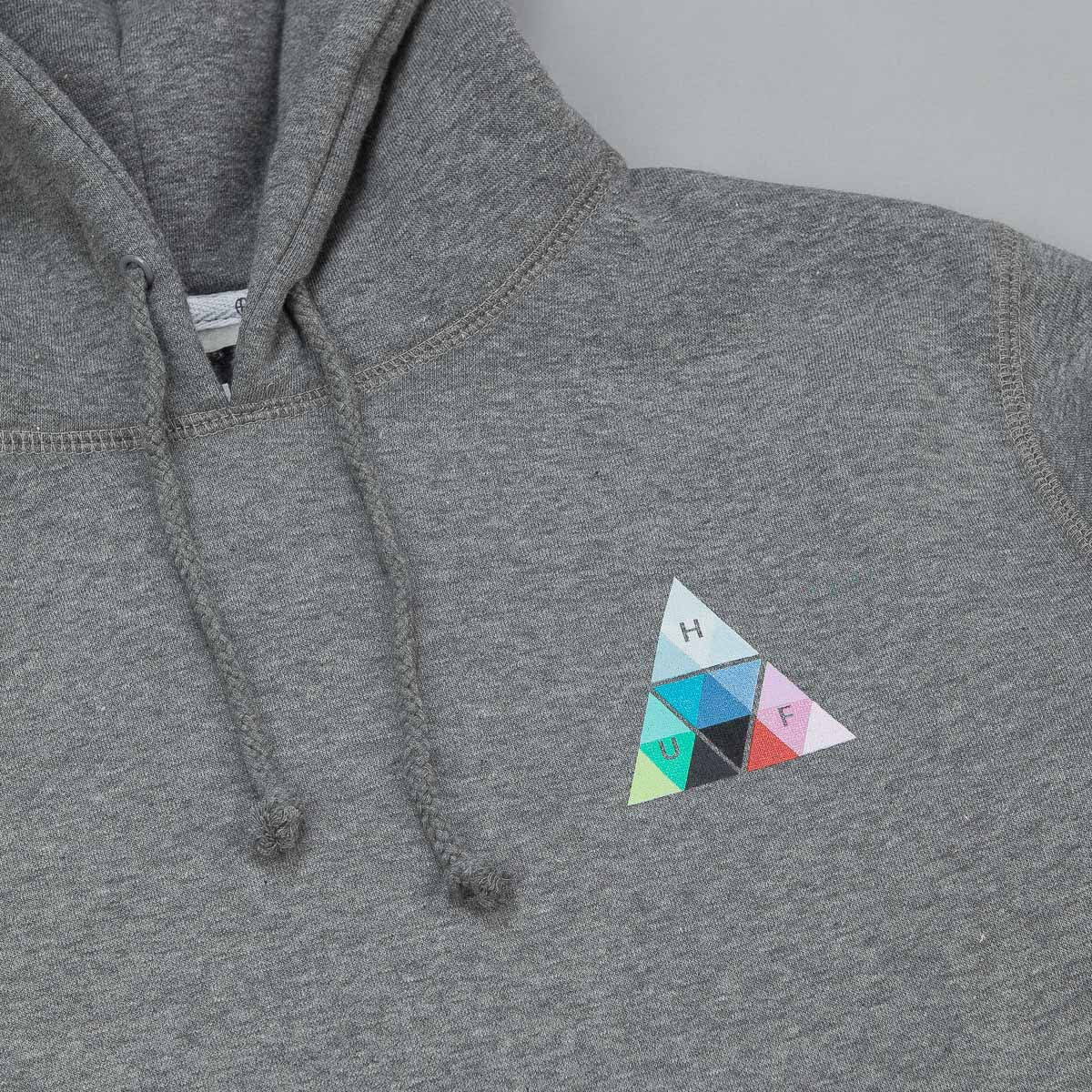 HUF Triangle Prism Hooded Sweatshirt - Grey Heather