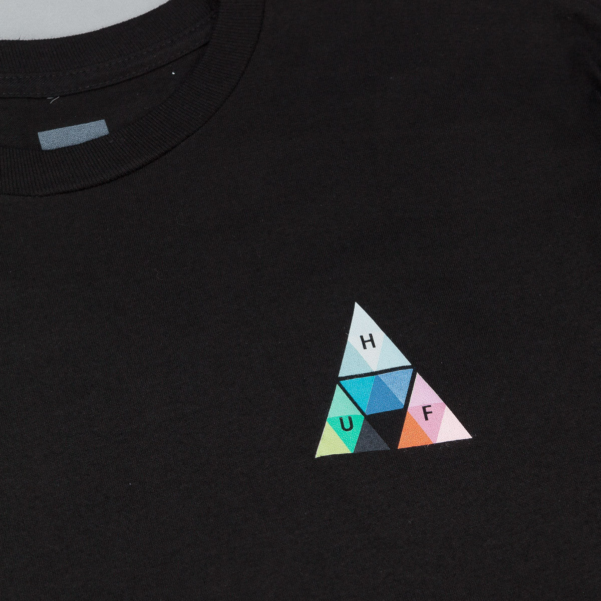 HUF Triangle Prism T-Shirt - Black