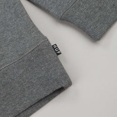 HUF Triangle Rose Hooded Sweatshirt - Grey Heather