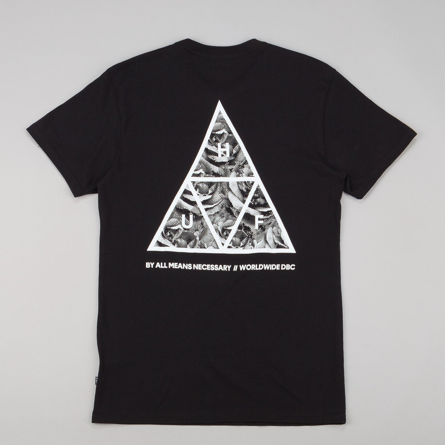 HUF Triangle Rose T-Shirt - Black