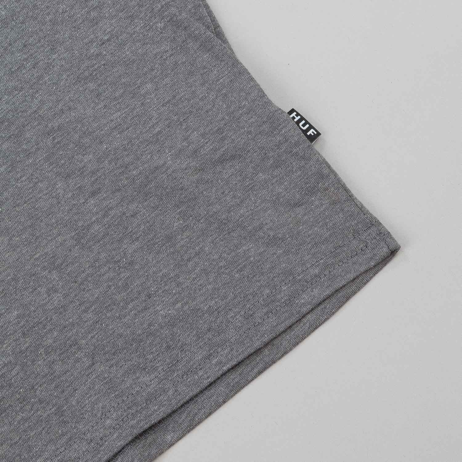 HUF Triangle Rose T-Shirt - Grey Heather