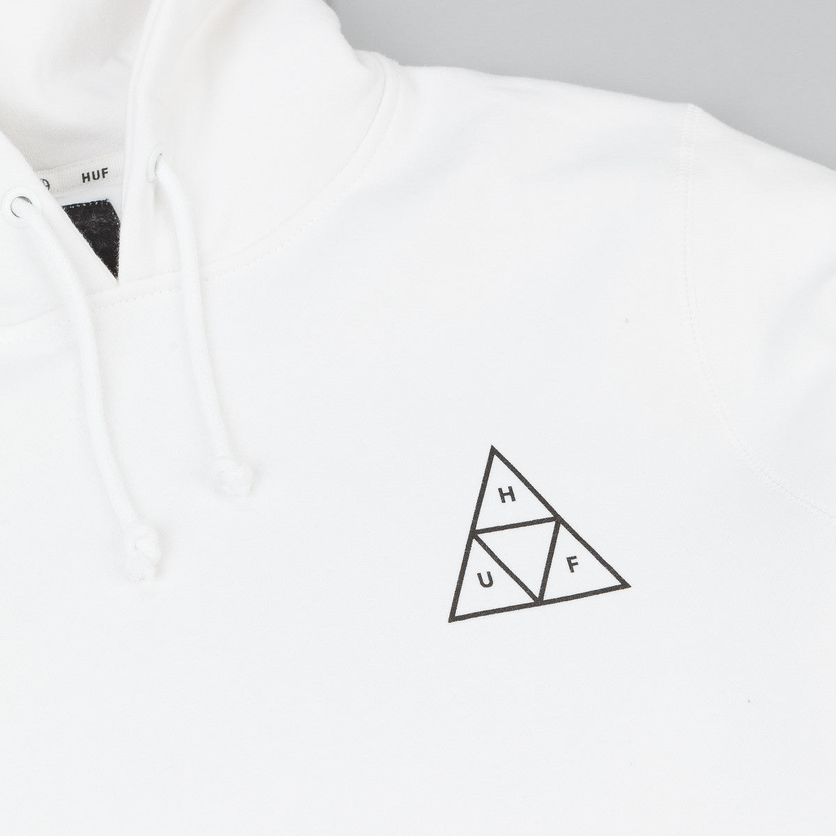 HUF Triple Triangle Fleece Hooded Sweatshirt - White