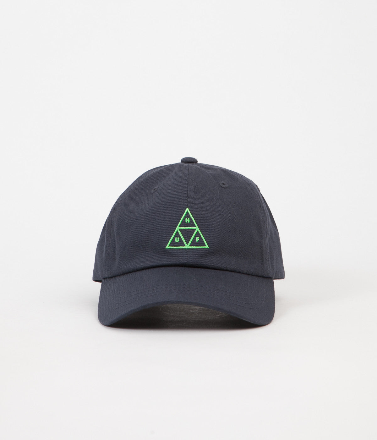 HUF Triple Triangle Curved Visor Cap - Navy