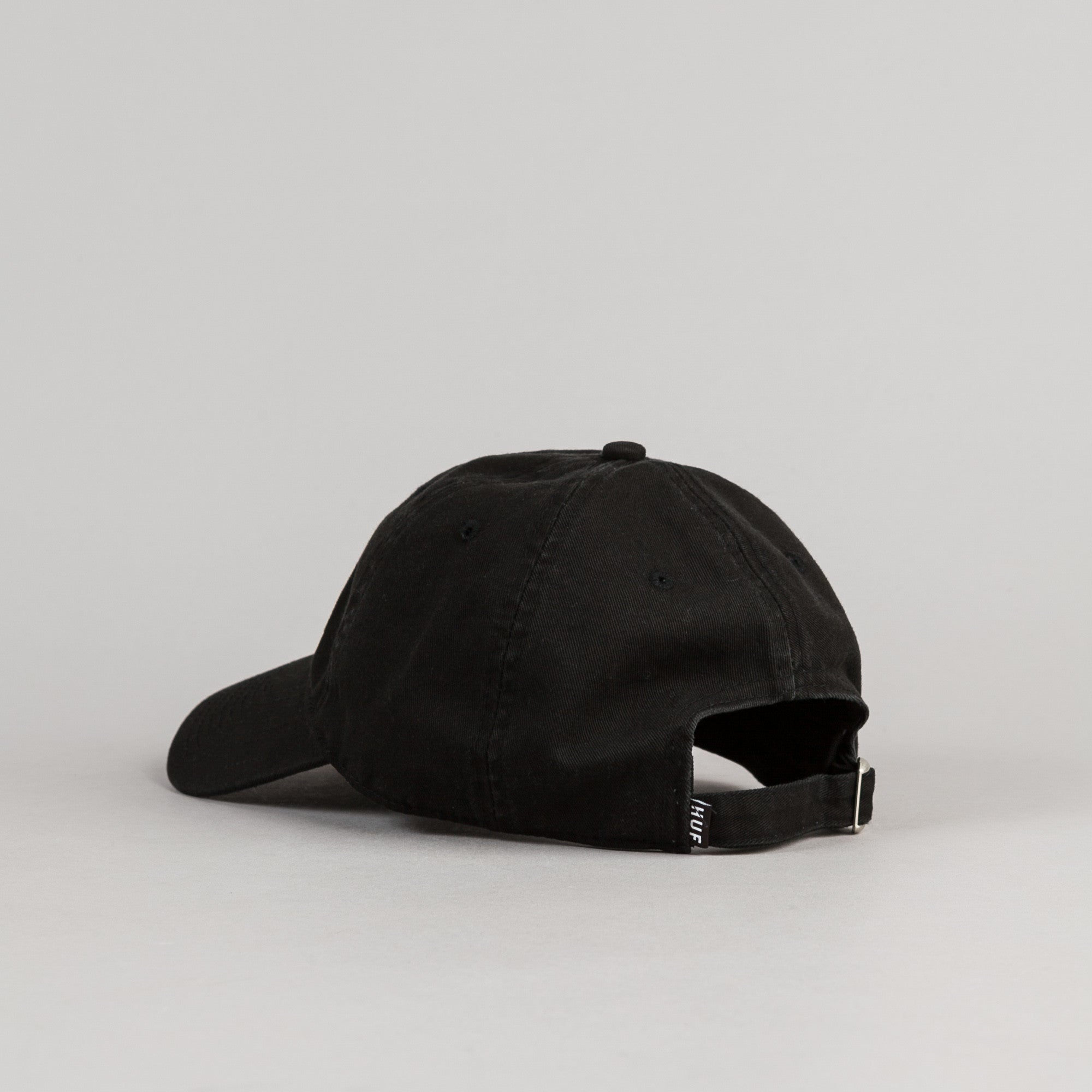 HUF Triple Triangle Dad Cap - Black