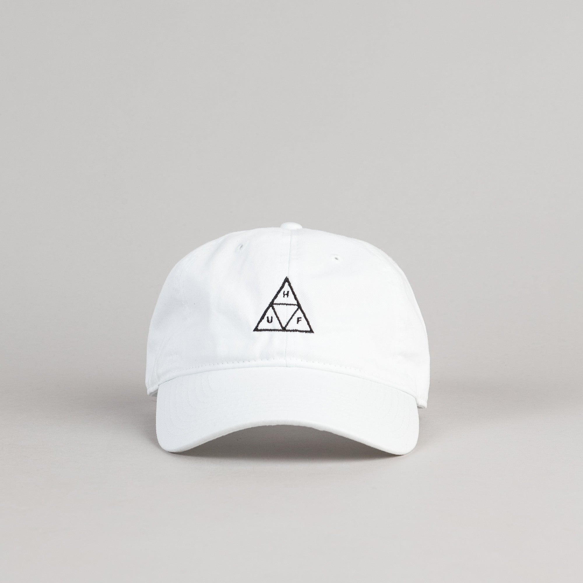 HUF Triple Triangle Dad Cap - White