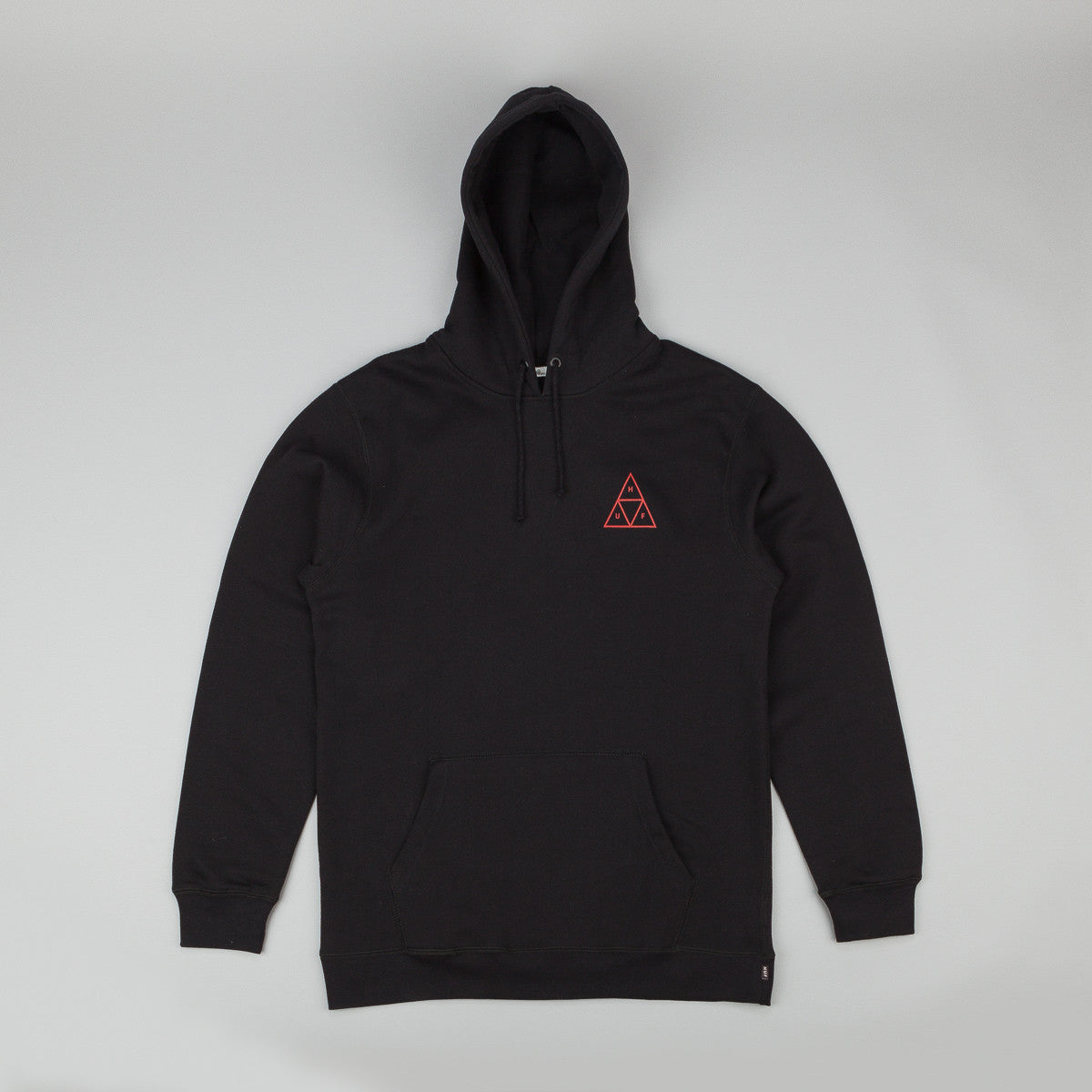 HUF Triple Triangle Fleece Hooded Sweatshirt - Black
