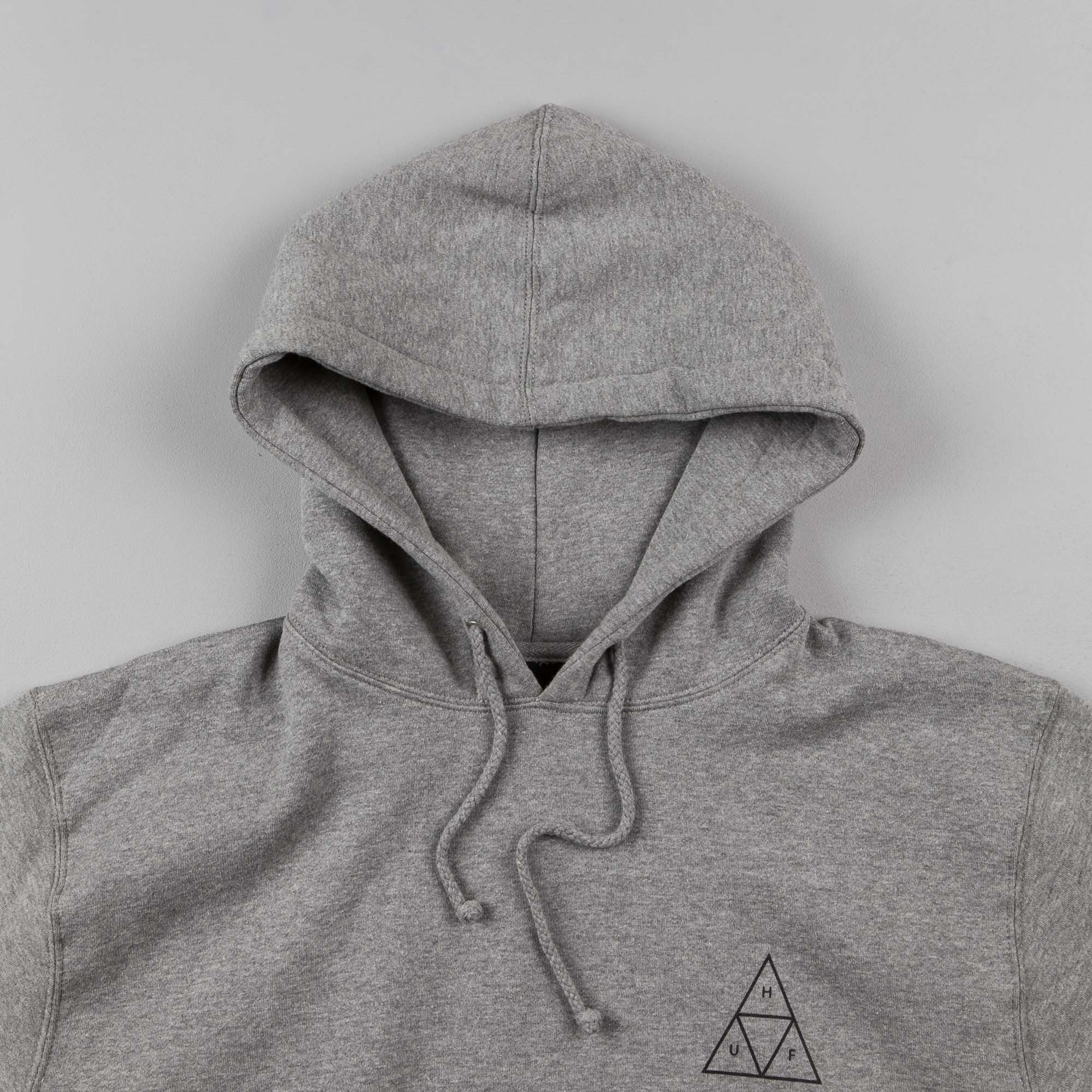 HUF Triple Triangle Hooded Sweatshirt - Heather Grey