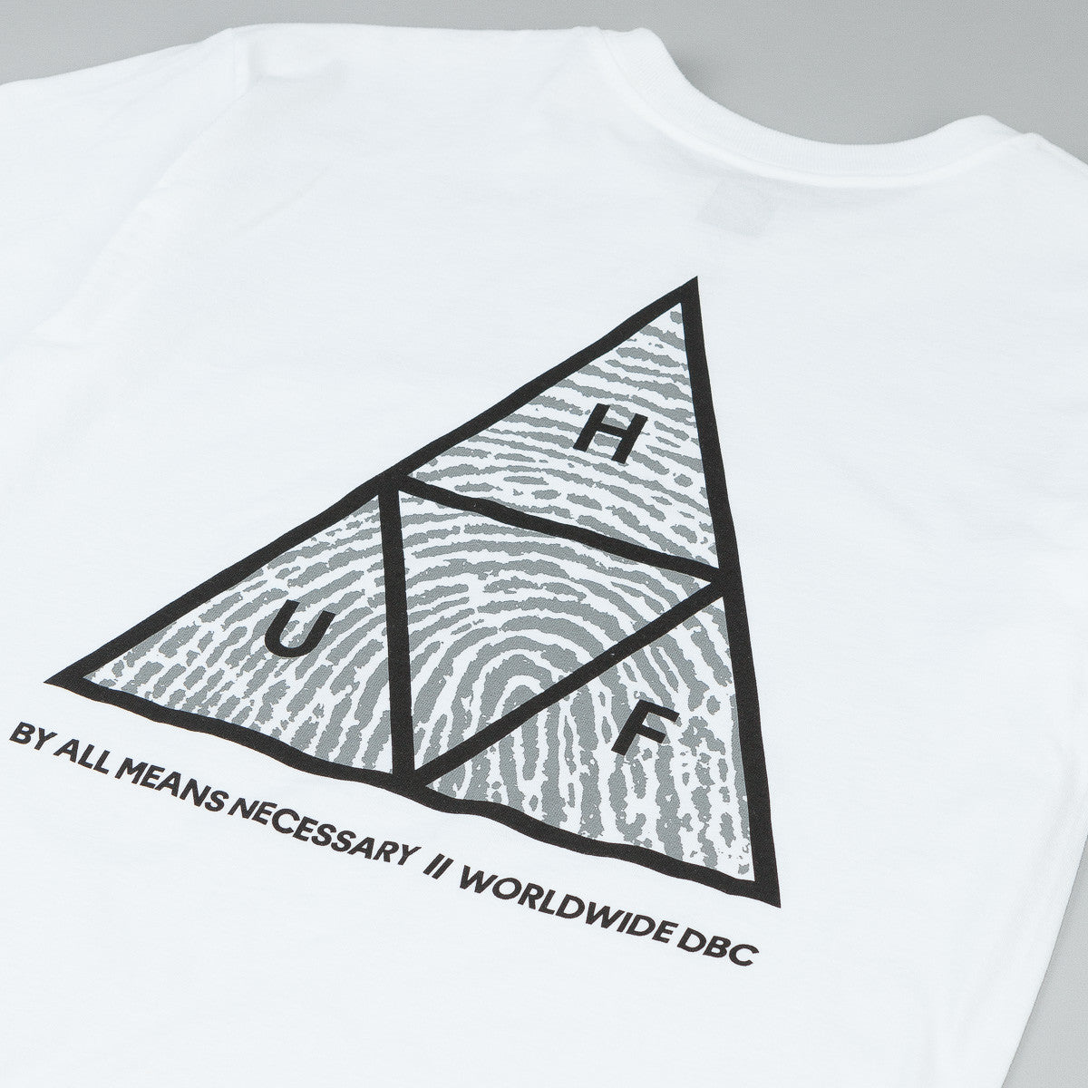 HUF Triple Triangle Identity T-Shirt - White