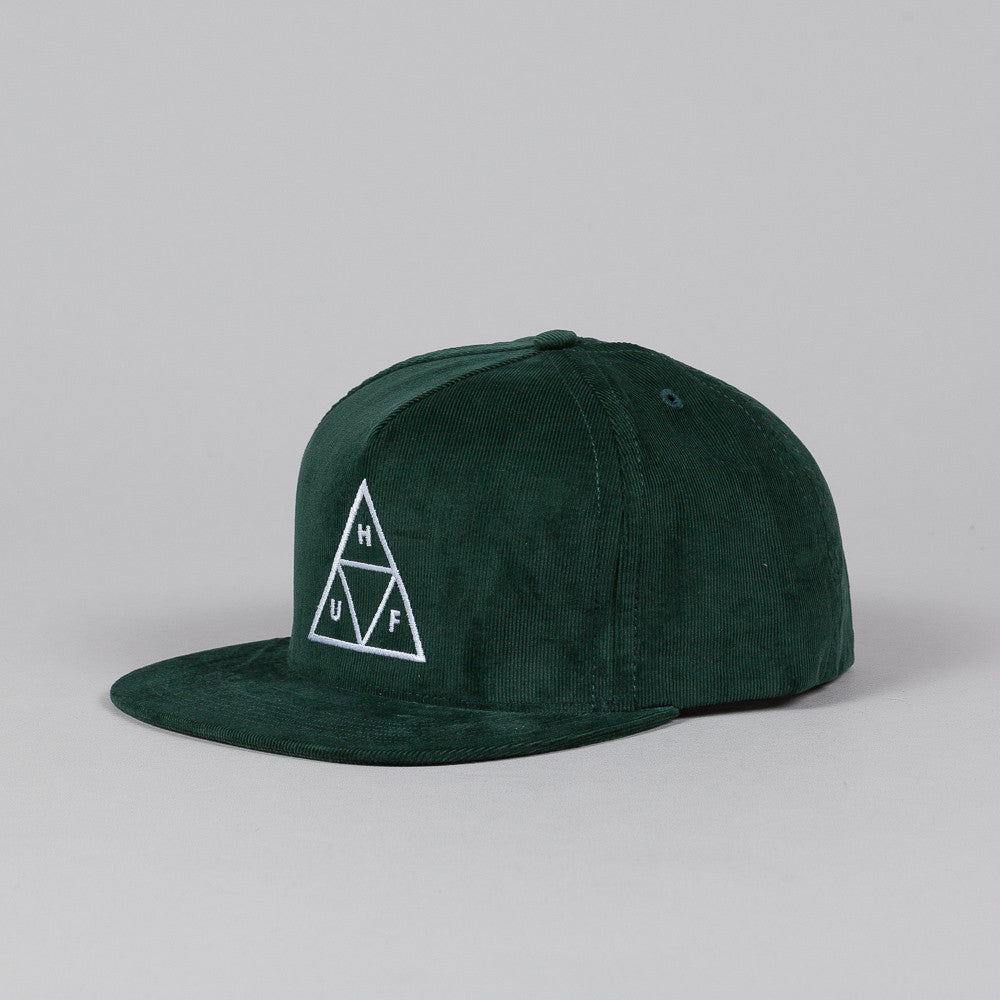 Huf Triple Triangle Snapback Forest