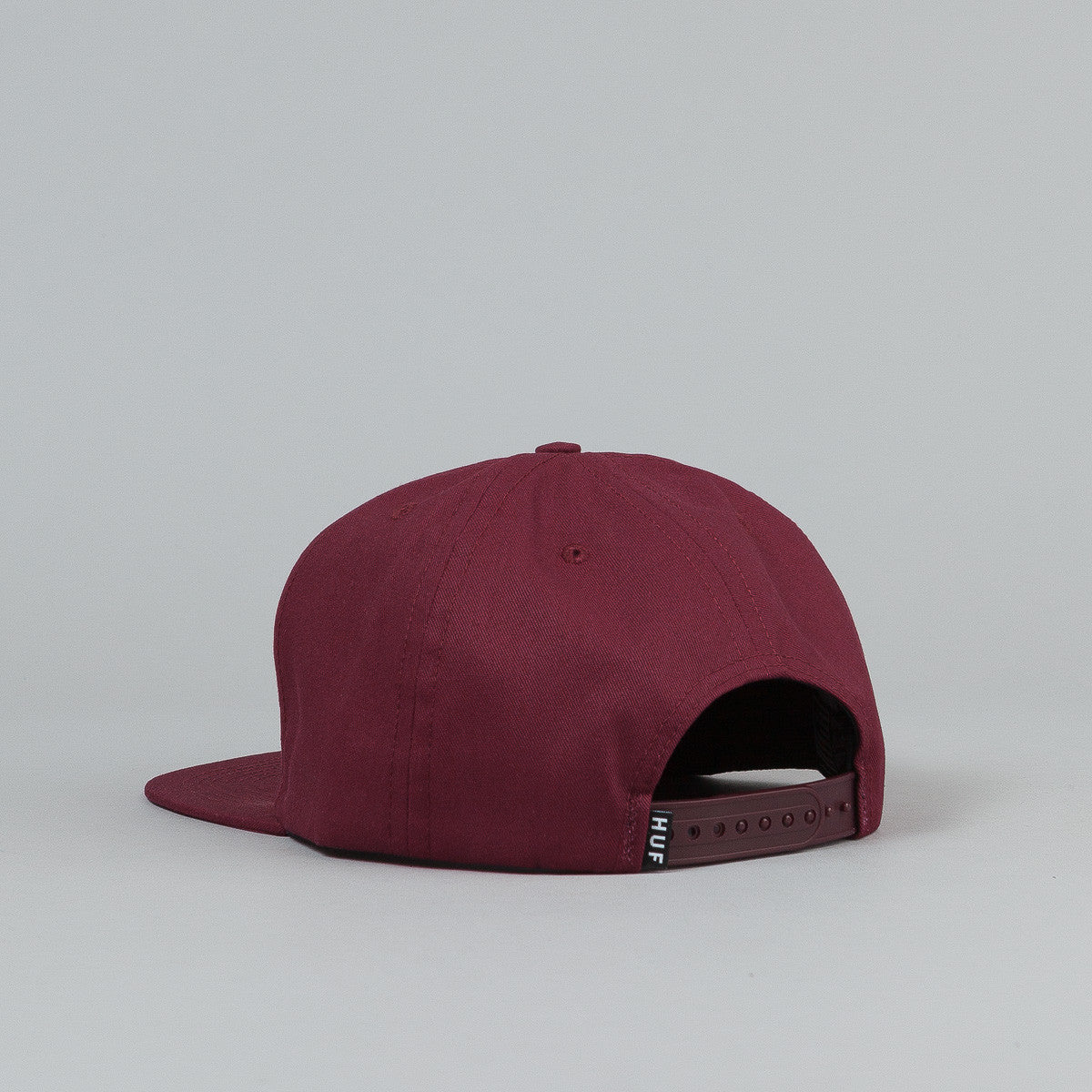 HUF Triple Triangle Snapback Cap - Wine