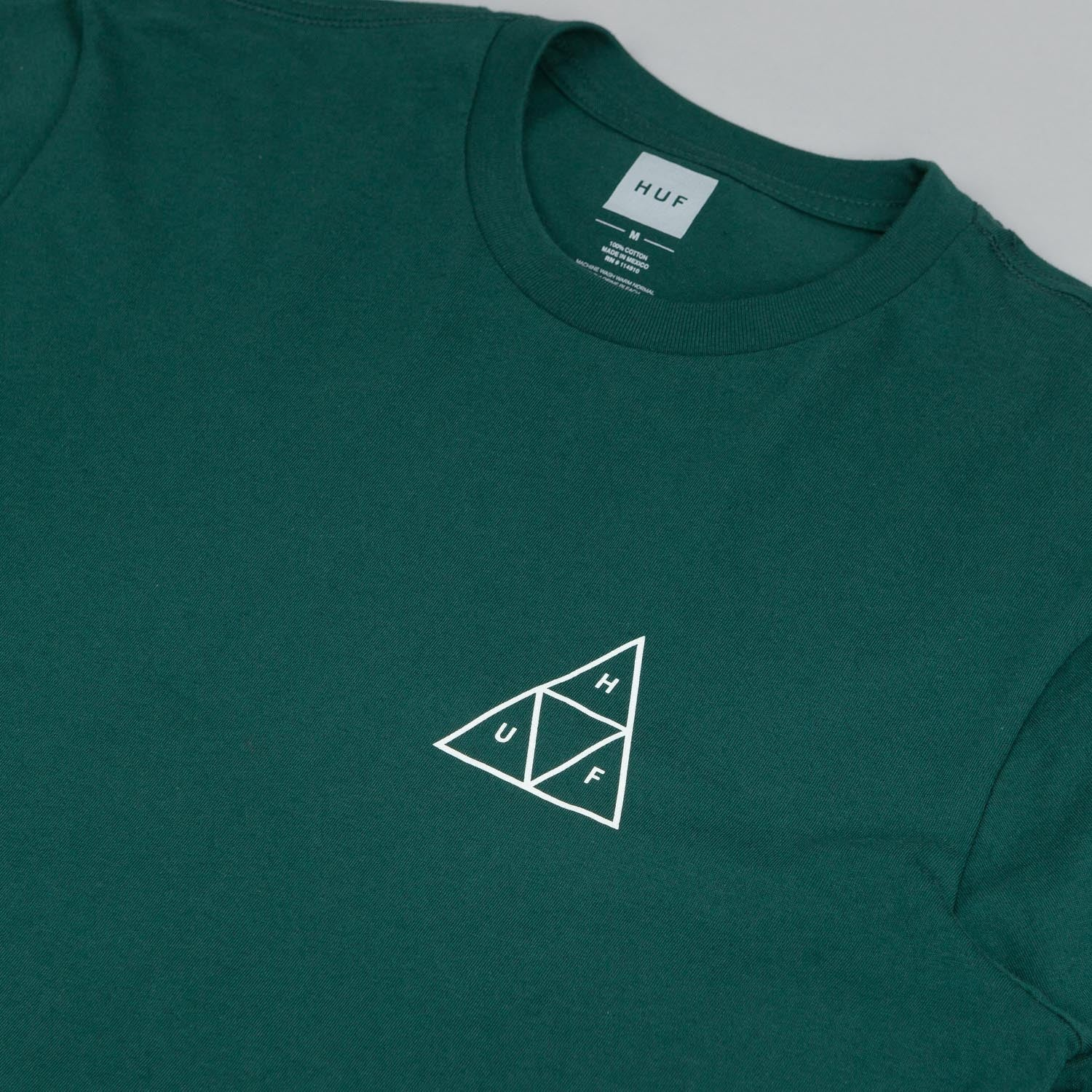HUF Triple Triangle T Shirt - Forest
