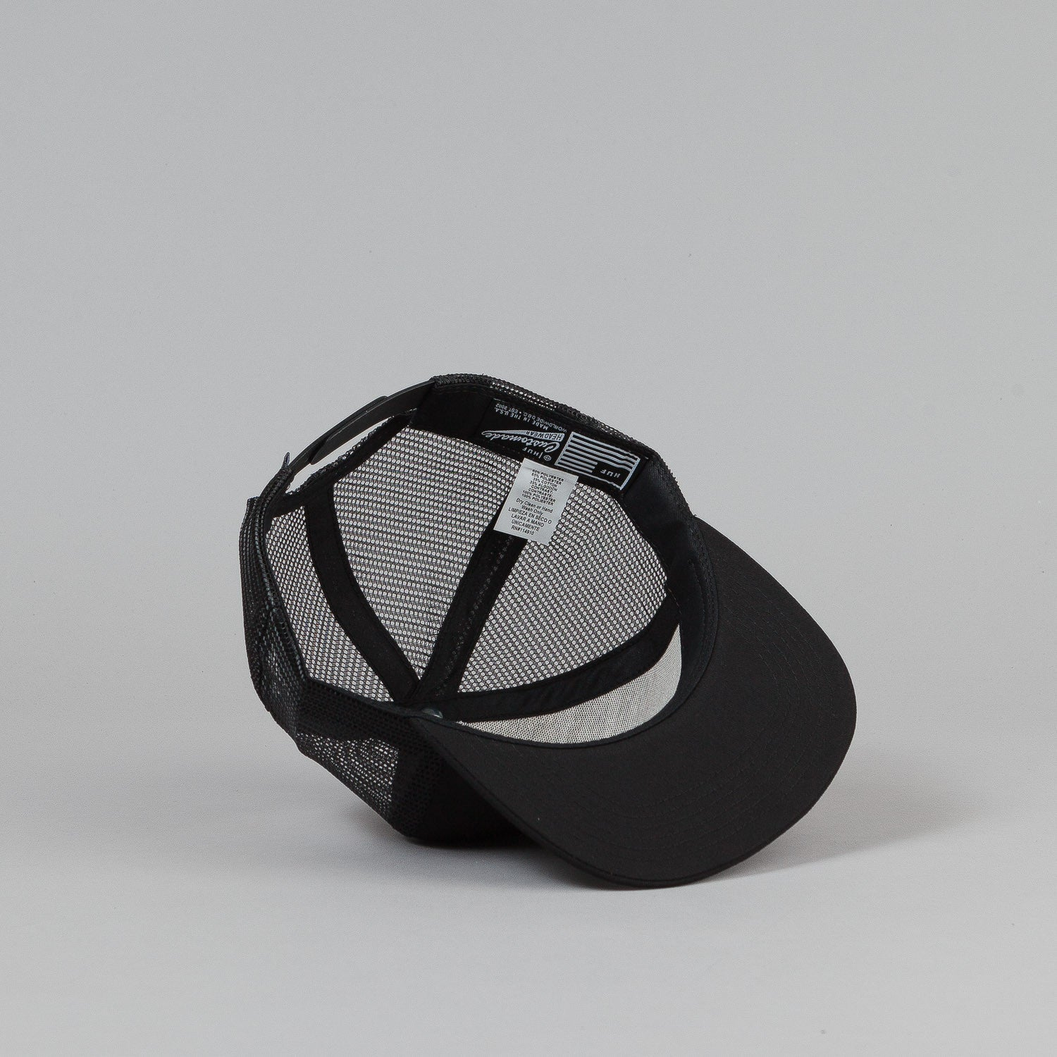 HUF Triple Triangle Trucker Cap - Black