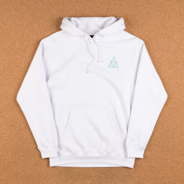HUF Triple Triangle UV Hooded Sweatshirt - White