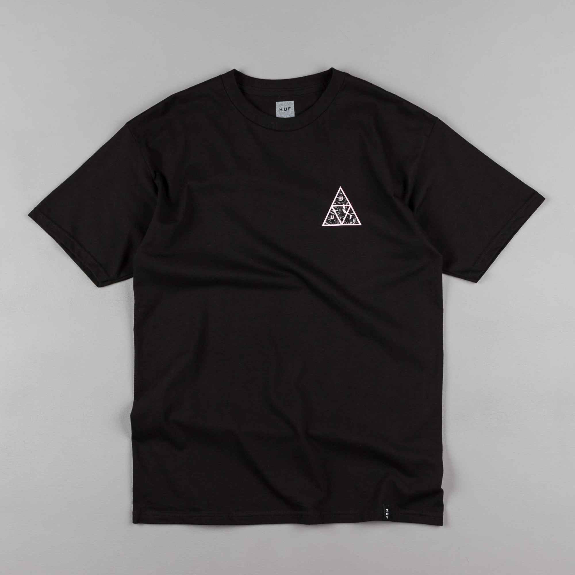 HUF Triple Triangle UV T-Shirt - Black