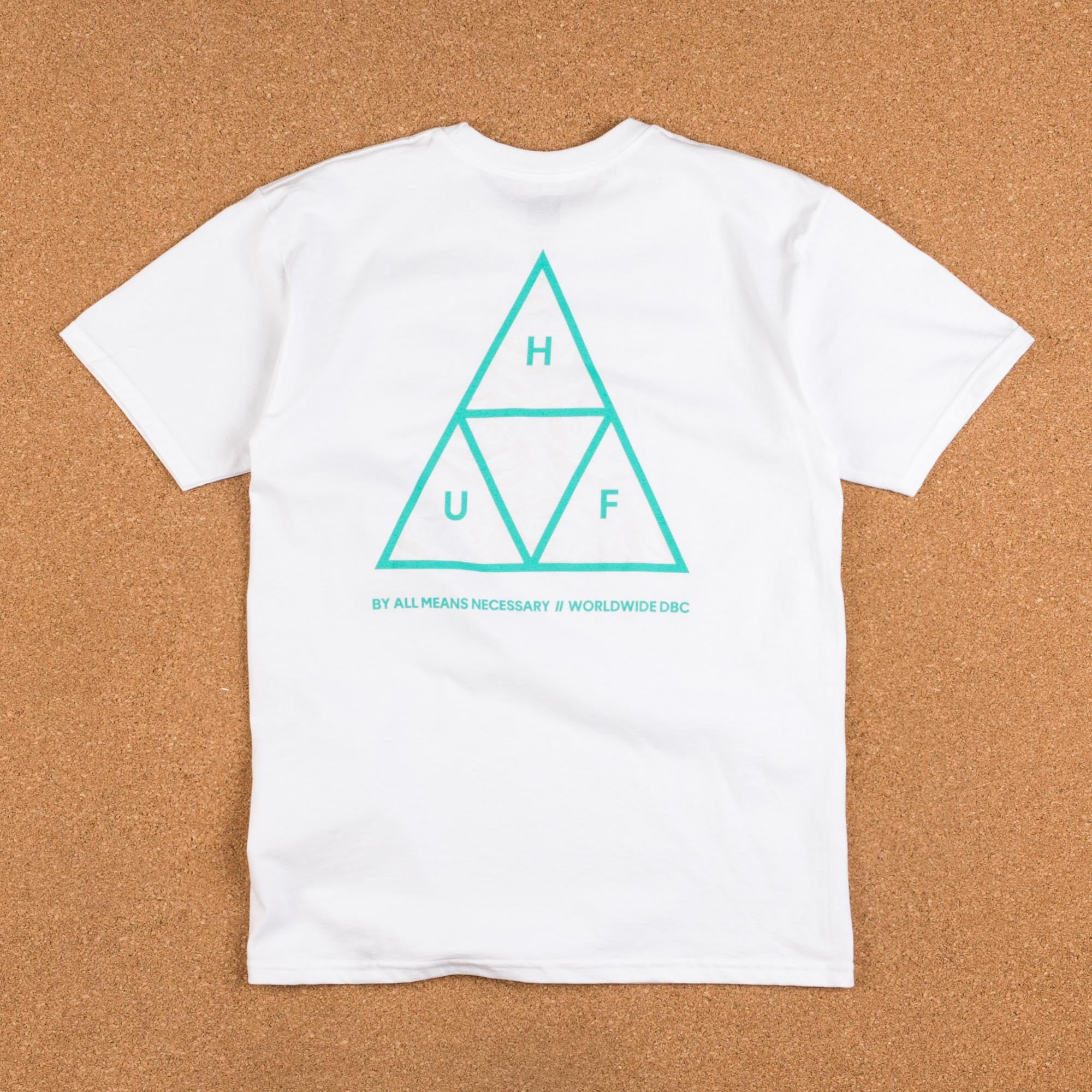 HUF Triple Triangle UV T-Shirt - White