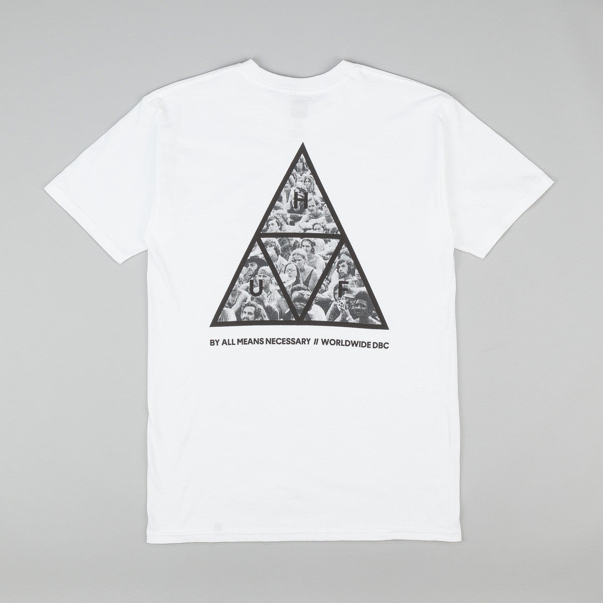 HUF Triple Triangle Woodstock T-Shirt - White