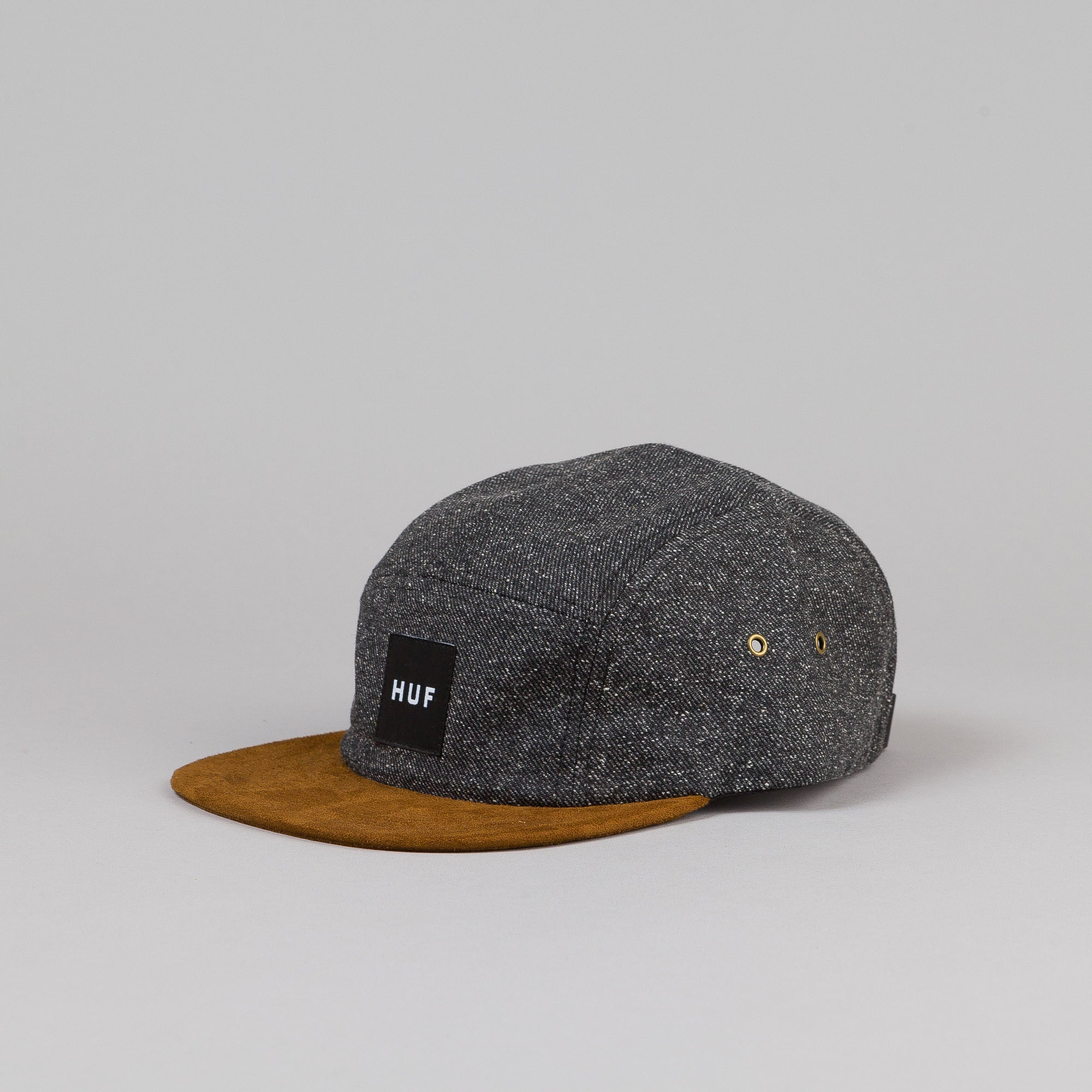 Huf Tweed Volley Cap Black