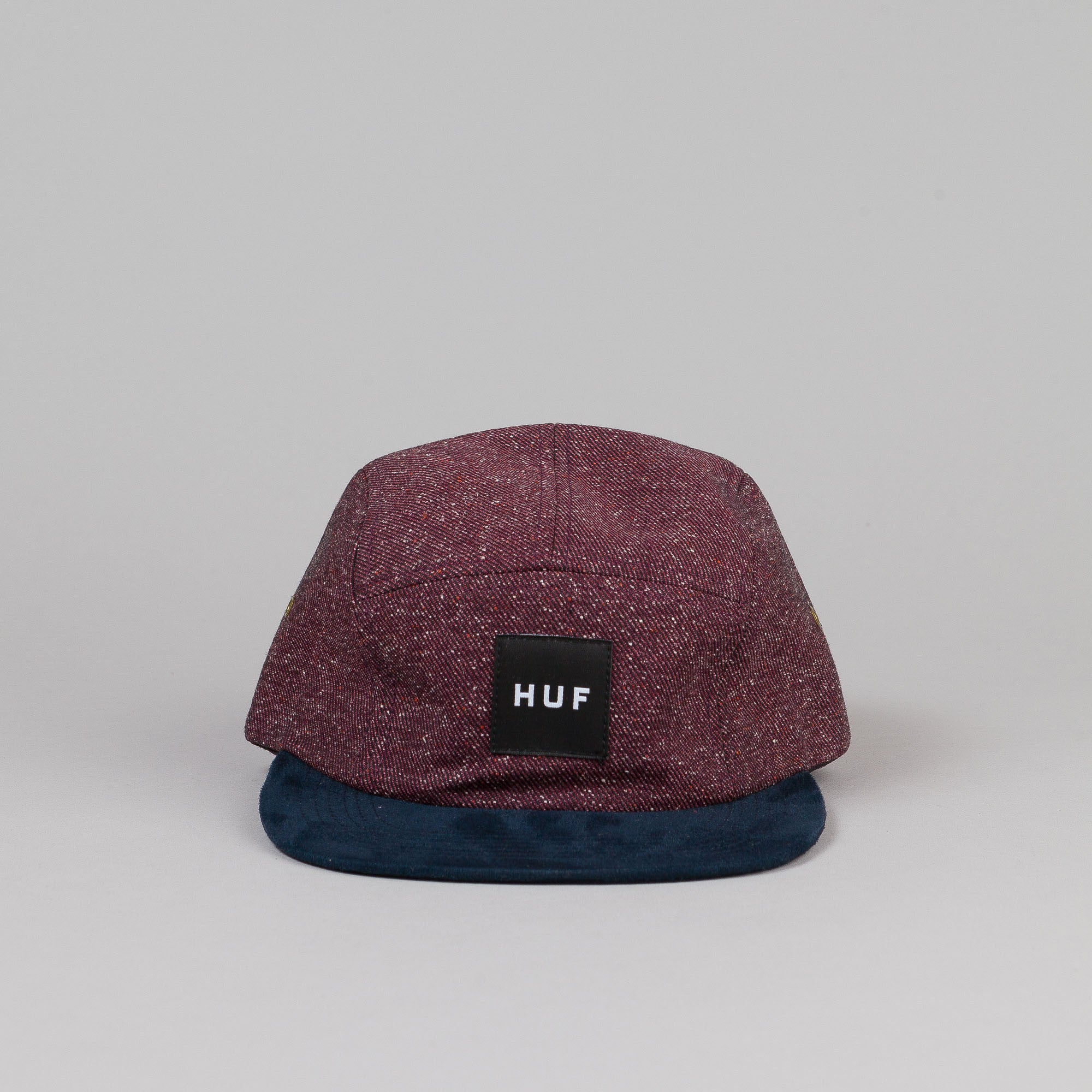 HUF Tweed Volley Cap Wine