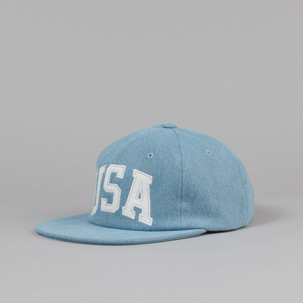 Huf USA Denim 6 Panel Cap
