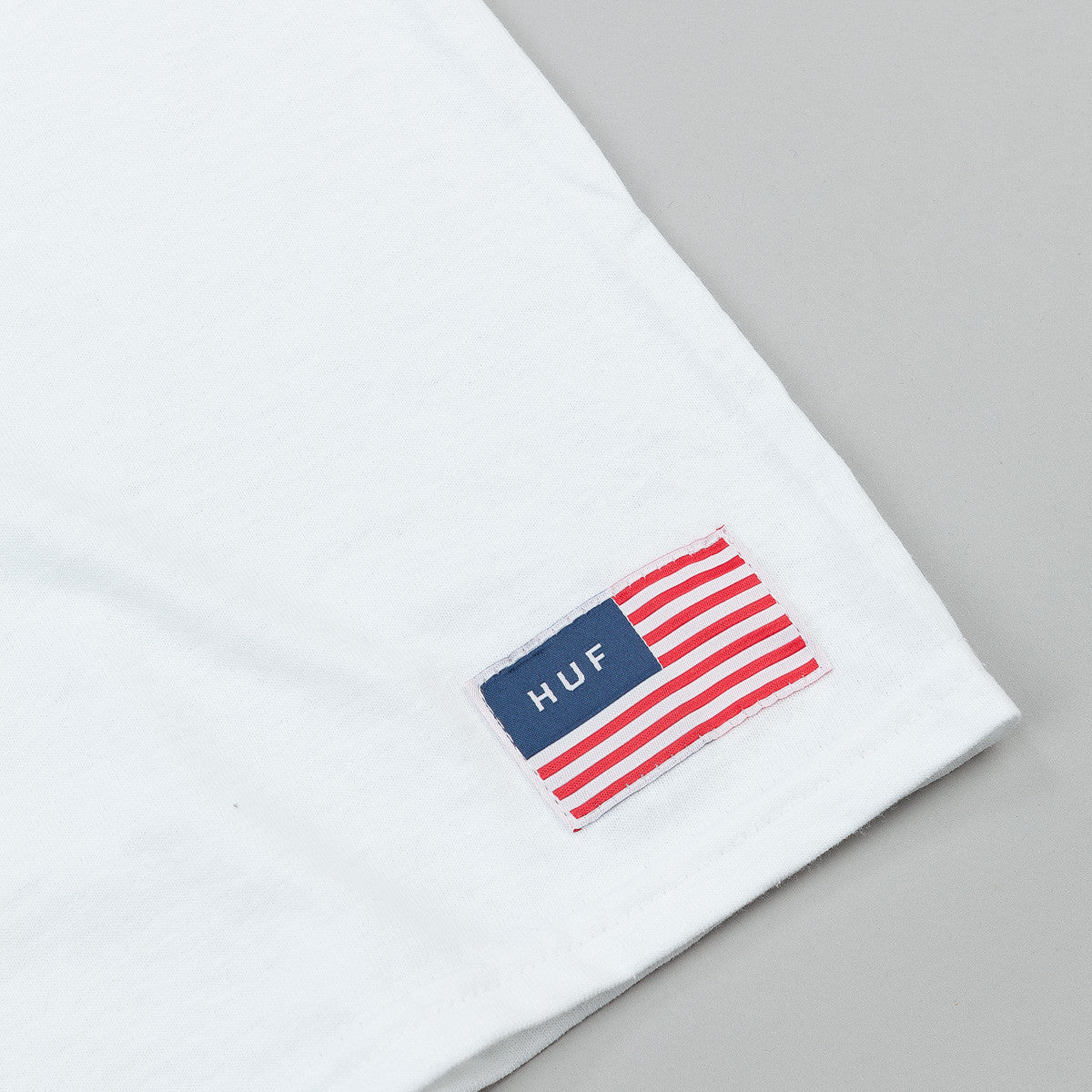 HUF USA Heavyweight T-Shirt - White