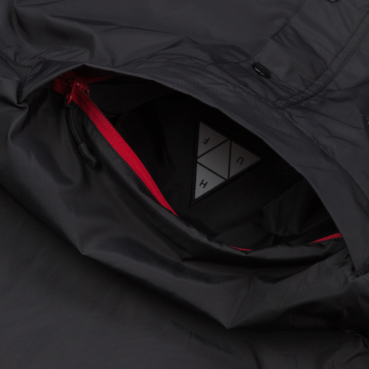 HUF Varick Packable Anorak - Black