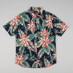 Huf Vintage Tropicana Short Sleeve Button Up Shirt