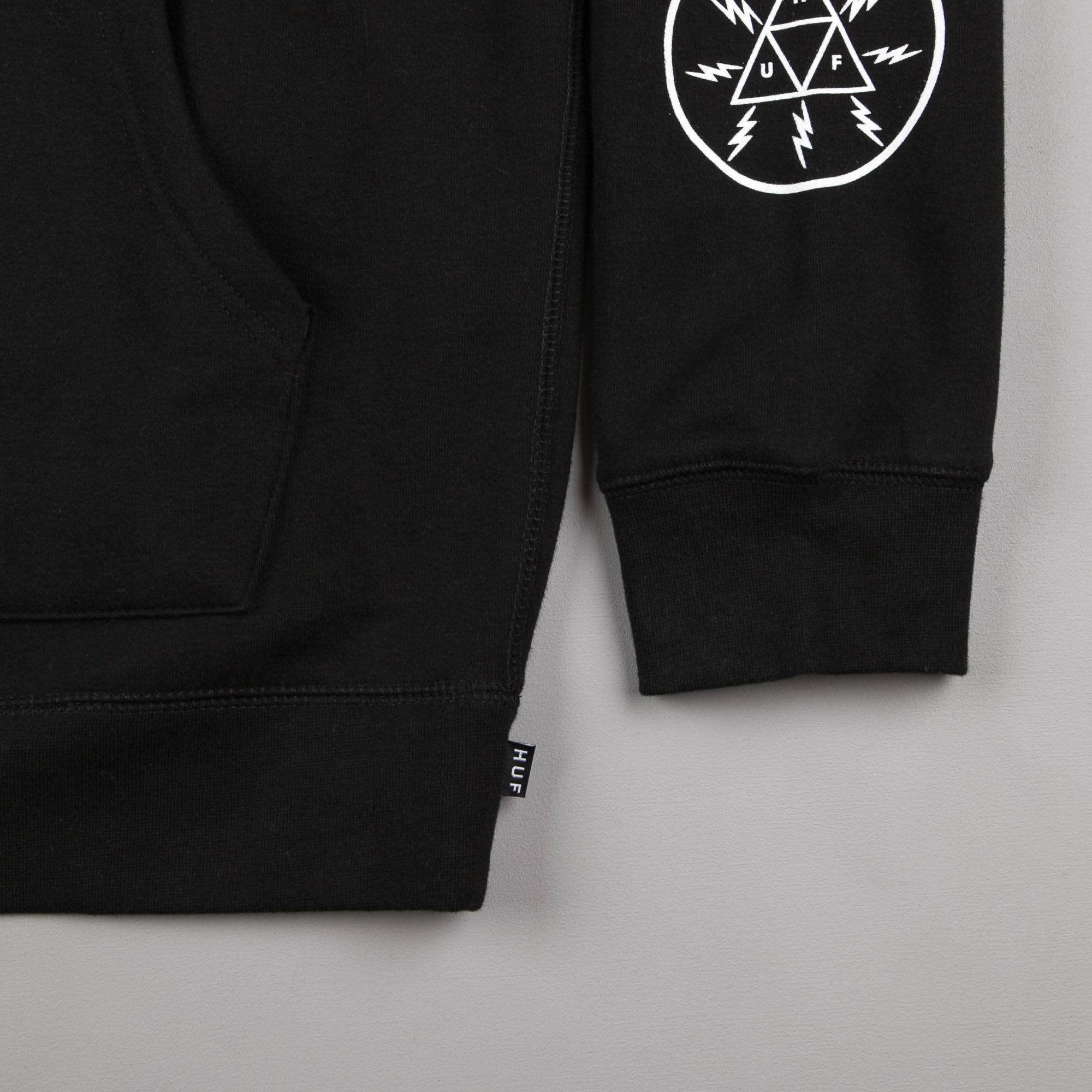 HUF Voltage Hooded Sweatshirt - Black