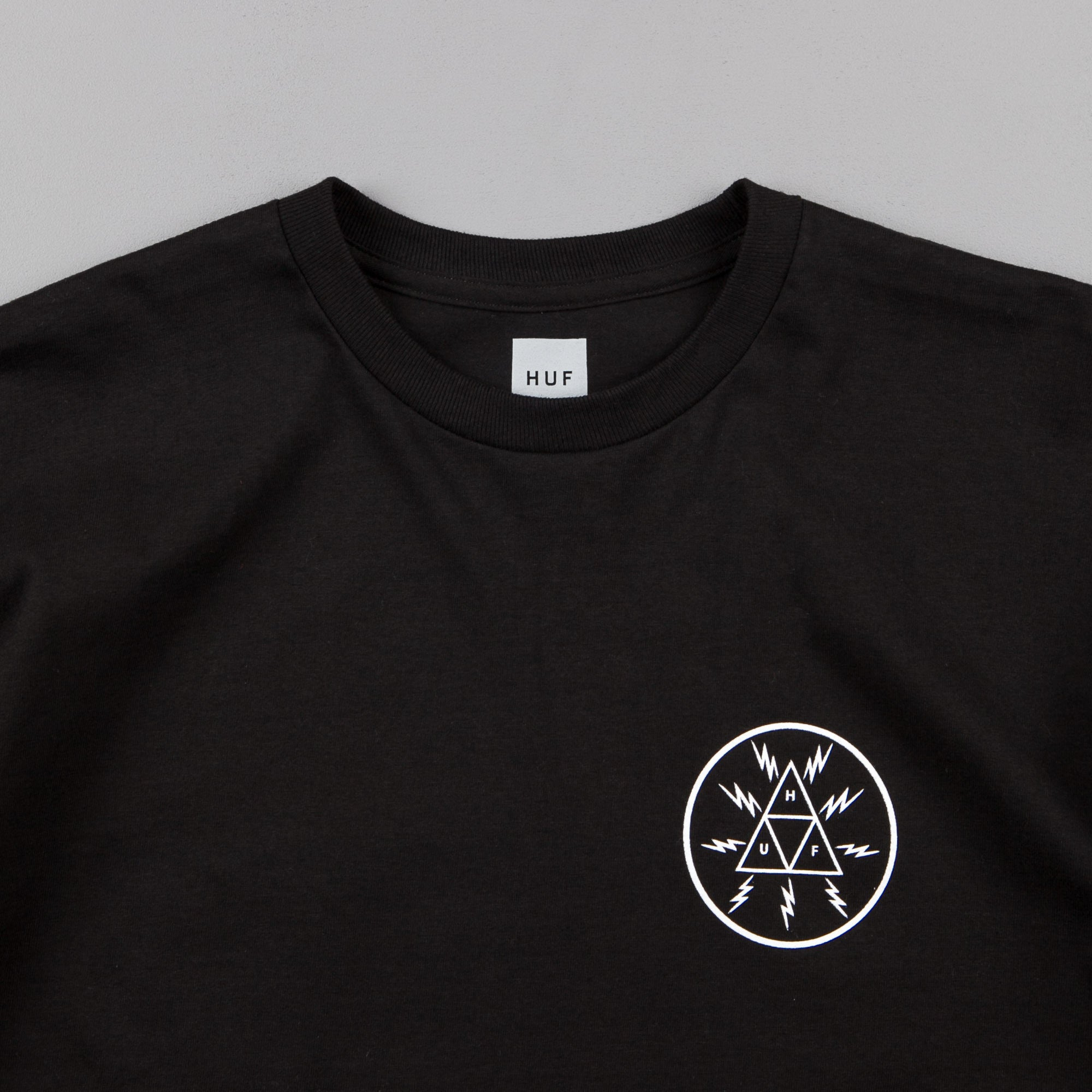 HUF Voltage Triangle T-Shirt - Black
