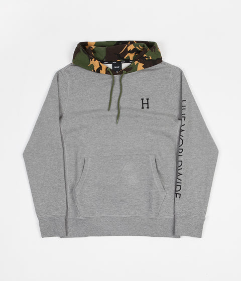 2a7791b29544 HUF Voyage French Terry Hoodie - Athletic Heather