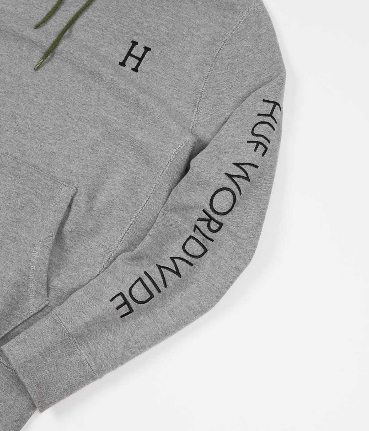 HUF Voyage French Terry Hoodie - Athletic Heather