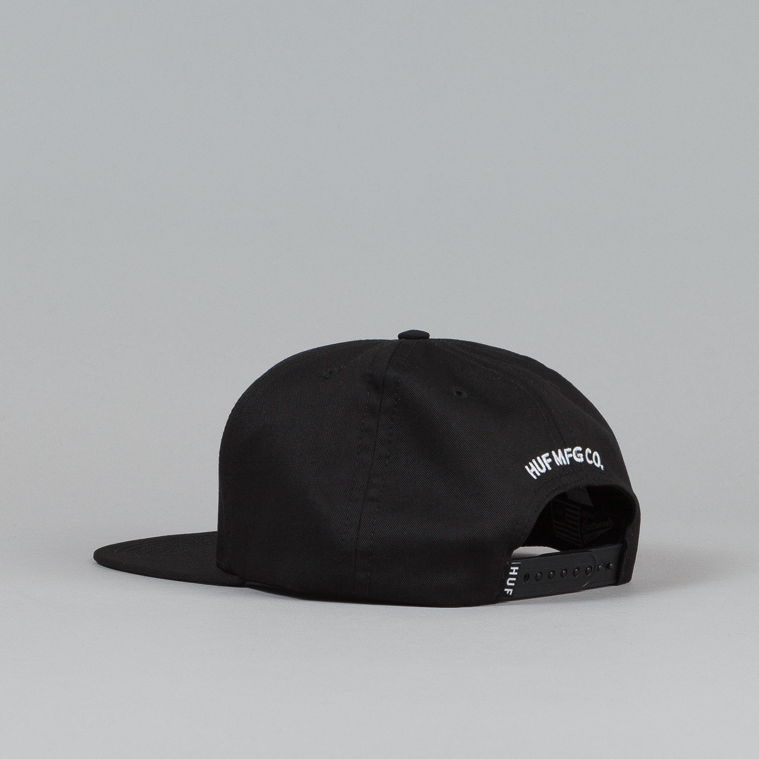 HUF Watt Up Snapback Cap Black