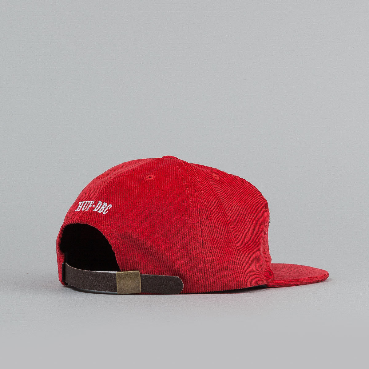 HUF Worldwide Snapback Cap - Red