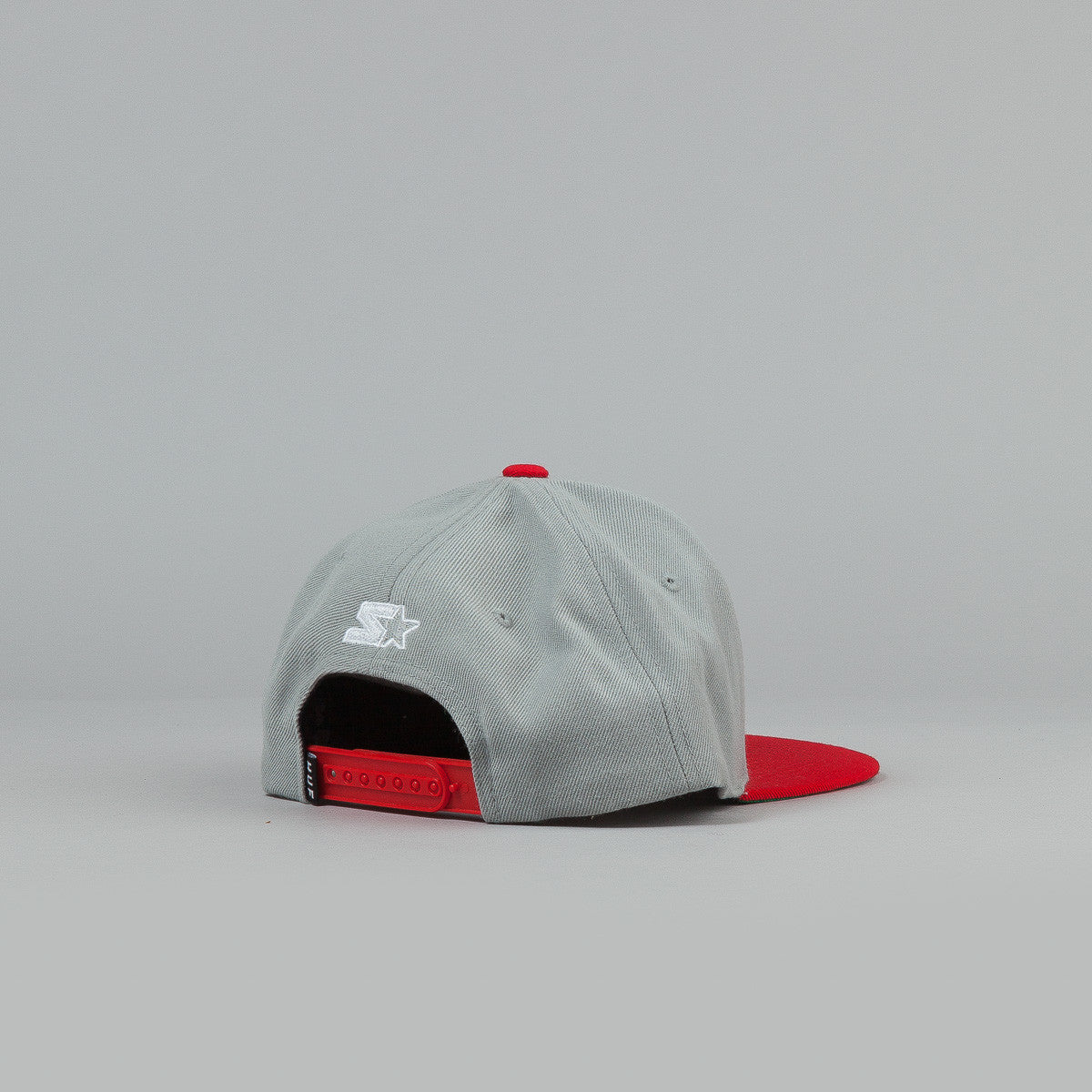 HUF Worldwide Stoops Starter Snapback Cap Grey