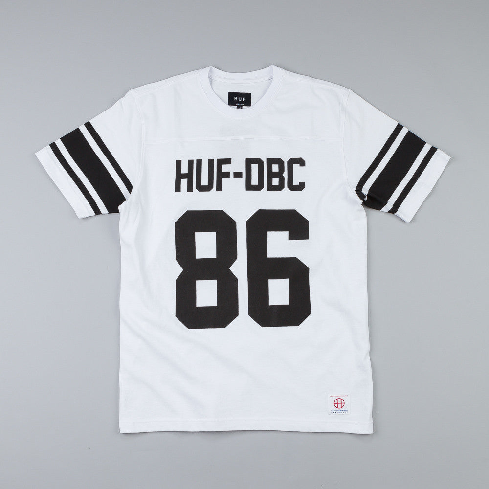 Huf Wrecking Crew Football Jersey White