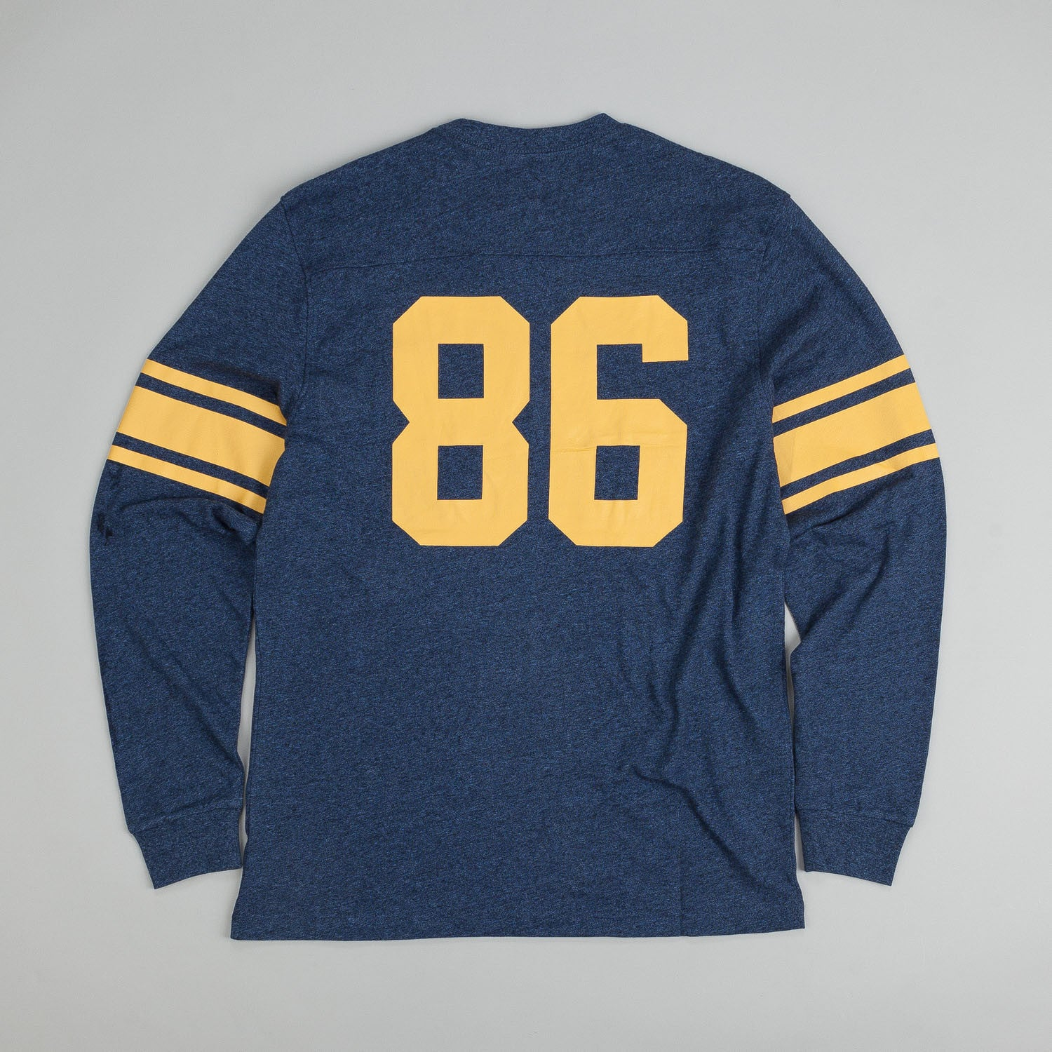 HUF Wrecking Crew L/S Football Jersey Navy Heather
