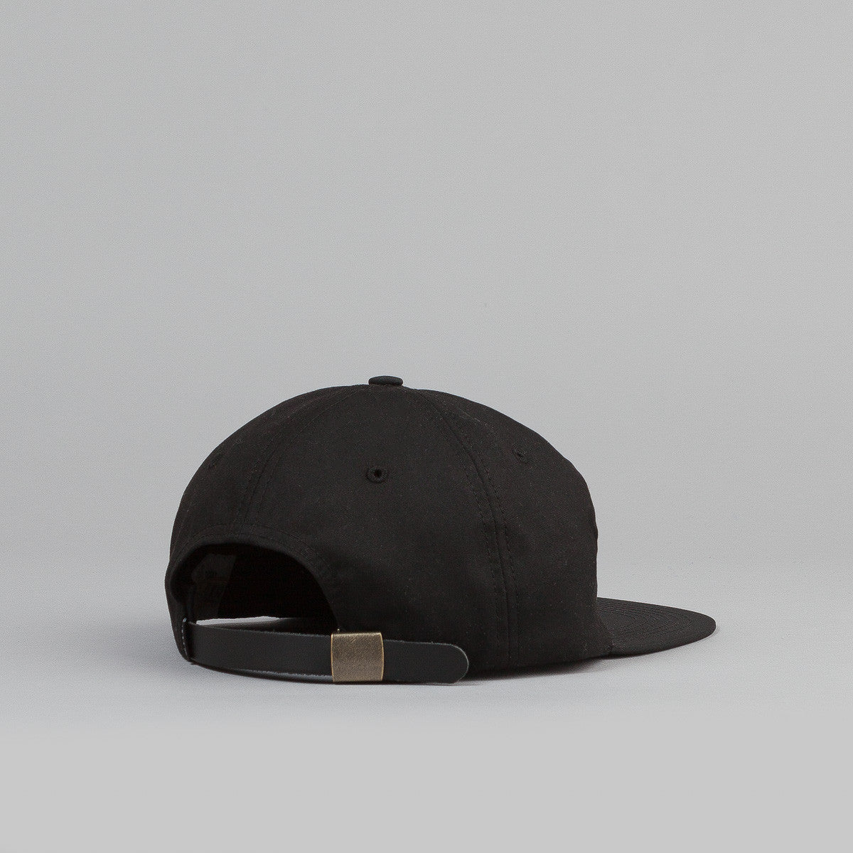 HUF X British Millerain Waxed 6 Panel Cap - Black