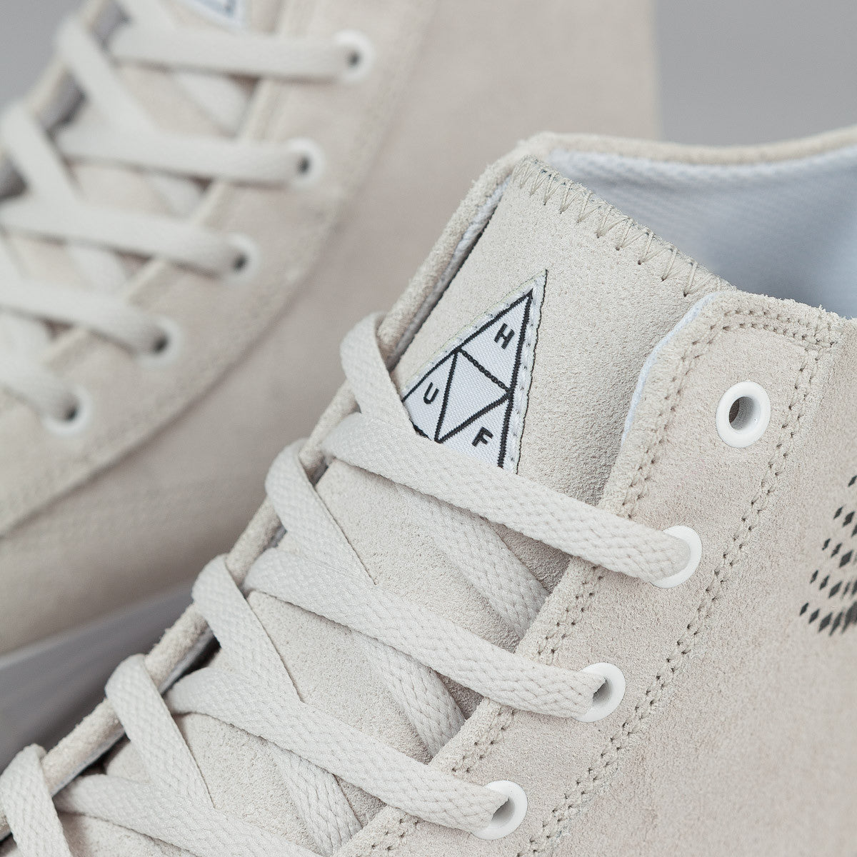 HUF X Bronze 56K Classic Hi Shoes - White