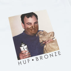 HUF x Bronze 56k Paint T-Shirt - White