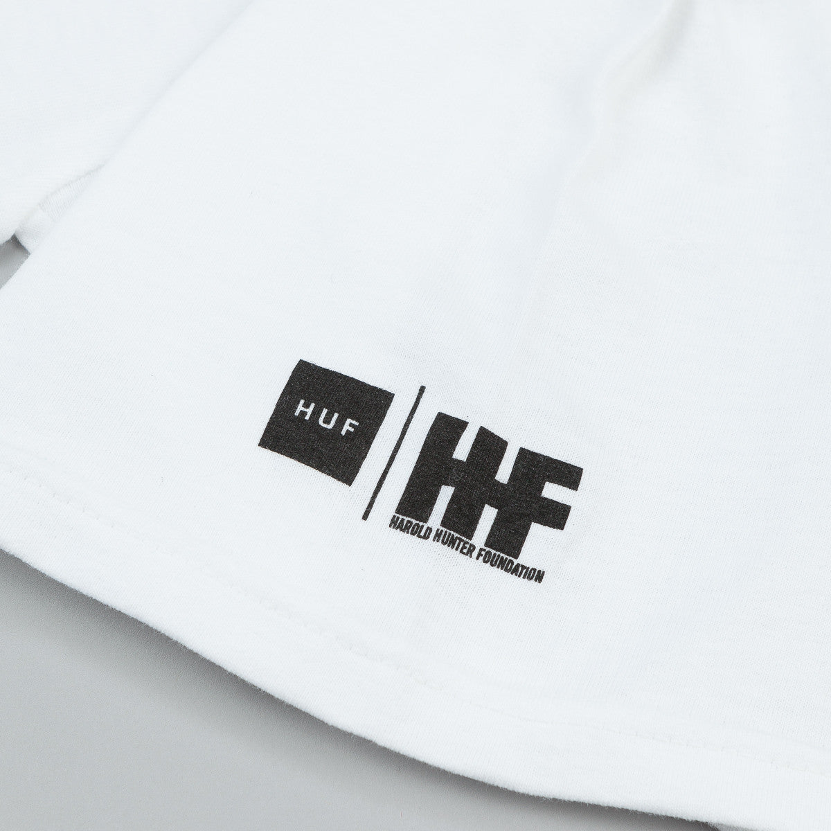HUF X Harold Hunter Foundation T-Shirt - White