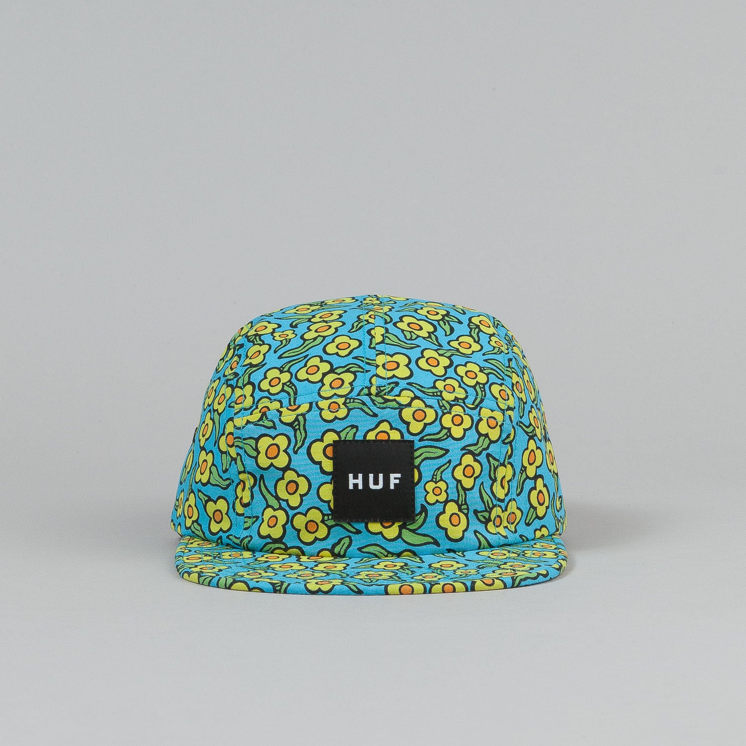 HUF X Krooked Flowers Volley Cap - Peacock