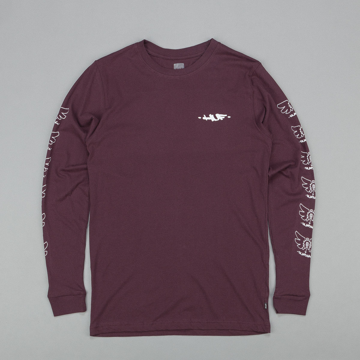 Huf X Slap Butterfly Long Sleeve T-Shirt
