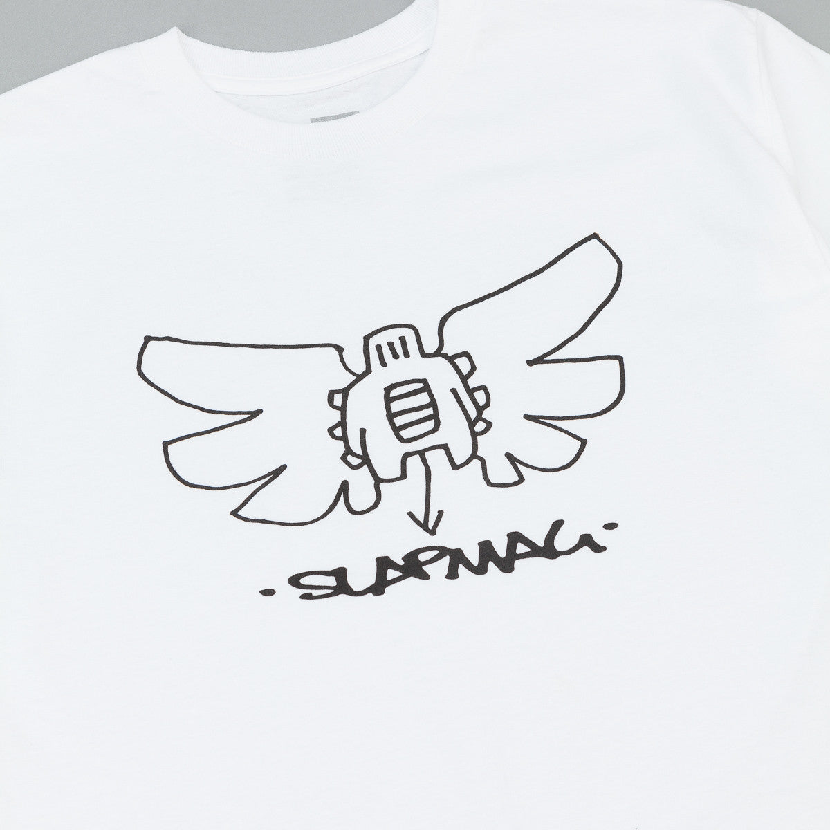 HUF X Slap Butterfly T-Shirt - White