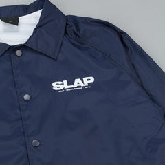 HUF X Slap Coaches Jacket - Navy