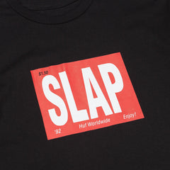 HUF X Slap Masthead T-Shirt - Black